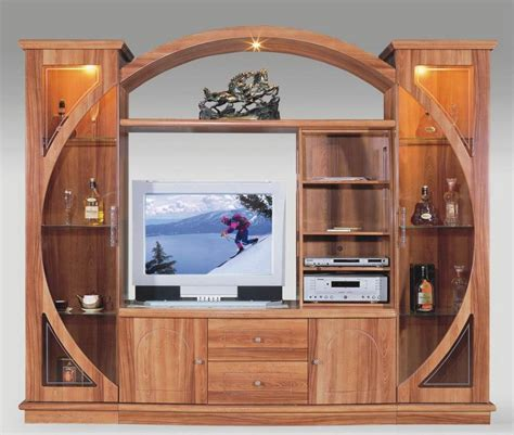 Antique TV Cabinet for Entertainment Stand made from wood : OLPOS Design