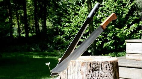 types of machetes types of machetes learn which one you need in every situation