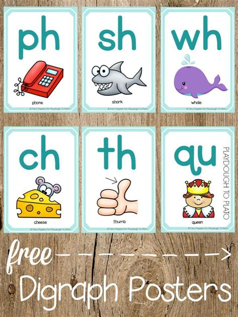 printable phonics poster 157 best images about blends and consonant clusters on