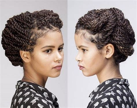 senegalese twist hairstyles with shaved sides senegalese twist hairstyles with shaved sides hairstyles