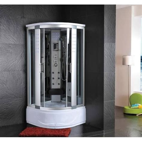 box doccia vasca idromassaggio cabina e vasca idromassaggio sauna 80x80 o 90x90 o 100x100 pd