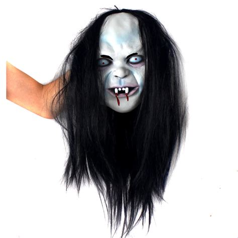Hide Hair Horrors With A Myperennial Hat by Horror Masks Witch Sadako Horror Mask Hedging