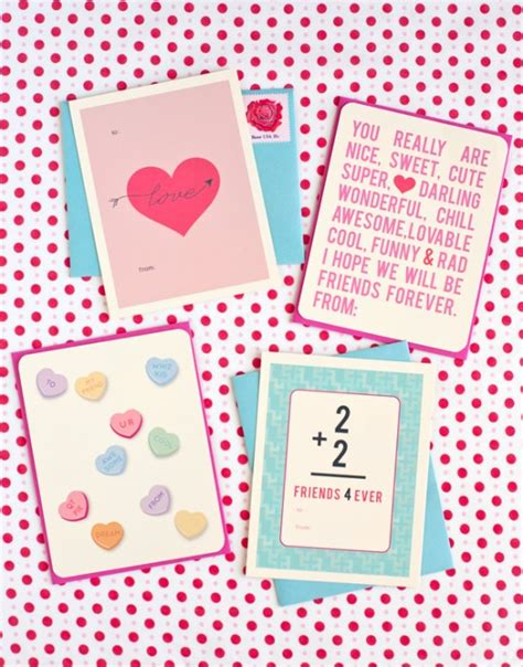 printable valentines day cards free 60 free s day class card printables for children