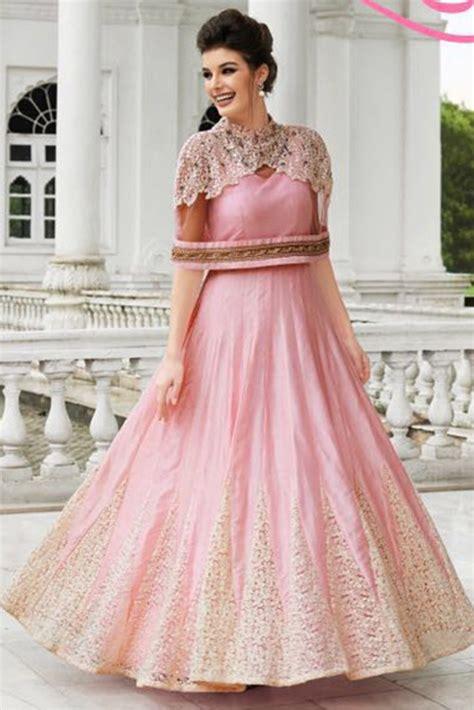 Dress Renda Baby silk wear gown in baby pink colour