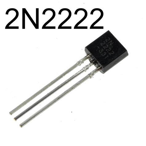 transistor bipolaire mosfet 2n2222 zpse5de9709