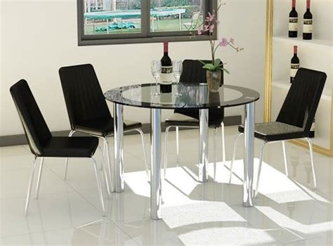 glass breakfast table set 17 best images about kitchen and dining room table sets