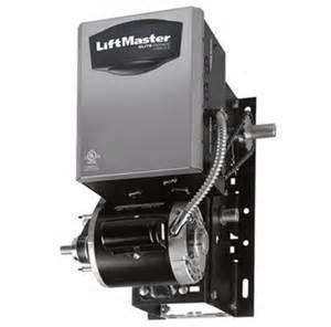 liftmaster j5011l4 industrial duty jackshaft garage door