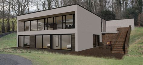sloping site house designs sloping site house plans uk house plans