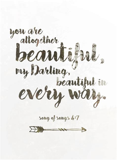 you are altogether beautiful my beautiful in