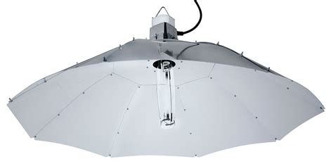 grow light reflector sun system 48 quot white parabolic grow light reflector with