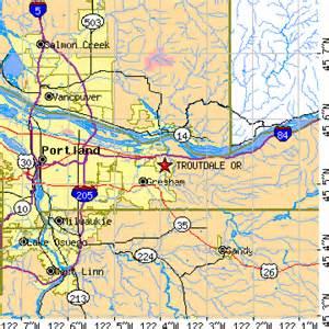 troutdale oregon map troutdale oregon or population data races housing