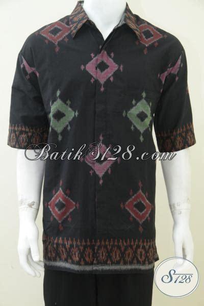 Kemeja Batik Jumbo Rara Big Size kemeja tenun ukuran big size besar jumbo untuk orang