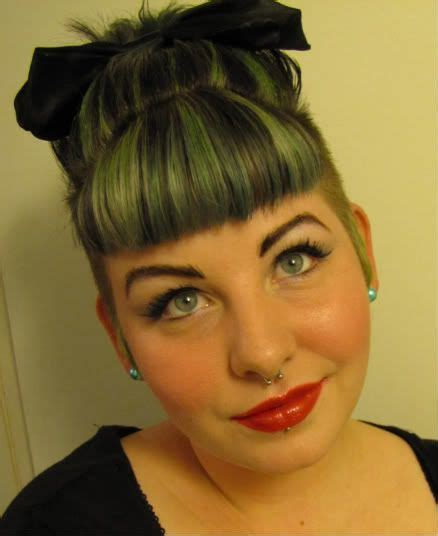 rockabilly hairstyles no bangs 24 best images about new bangs on pinterest hair