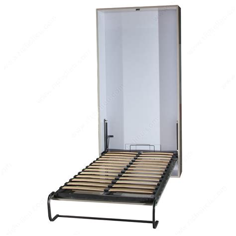 vertical bed vertical wall bed mechanism with piston mechanism manual