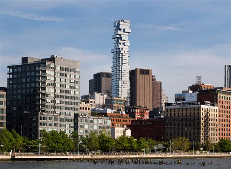designboom new york designboom herzog de meuron s 56 leonard jenga tower