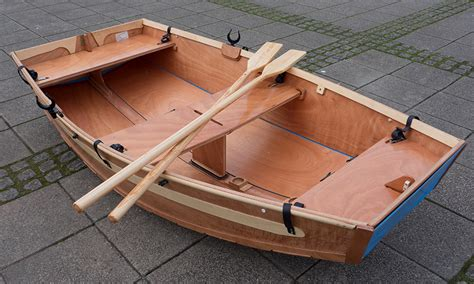 boat made of wood sc row seahopper