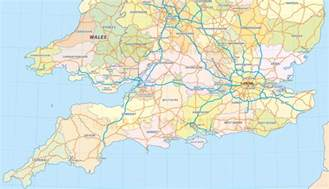 Detailed Map Of England by Detailed Road Map Of England Derietlandenexposities