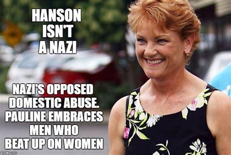 Pauline Hanson Memes - hanson imgflip