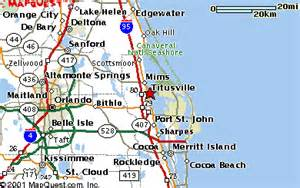 mims florida map titusville fl pictures posters news and on your