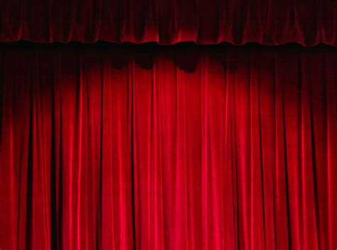 red curtain theatre dlo musical theatre red theater curtain