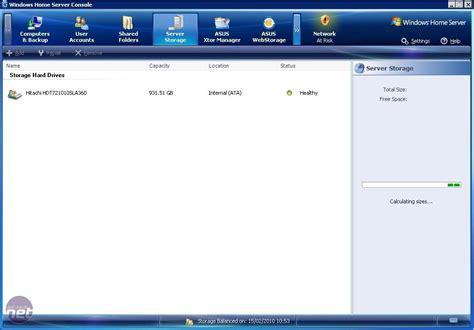 windows for houses review asus ts mini windows home server review bit tech net