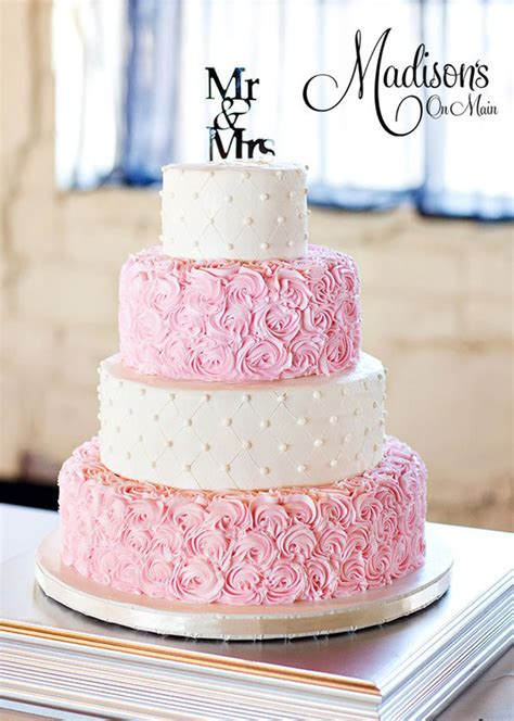 Hochzeitstorte Pink by 28 Inspirational Pink Wedding Cake Ideas