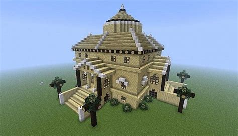 Water Fountain House Minecraft Project