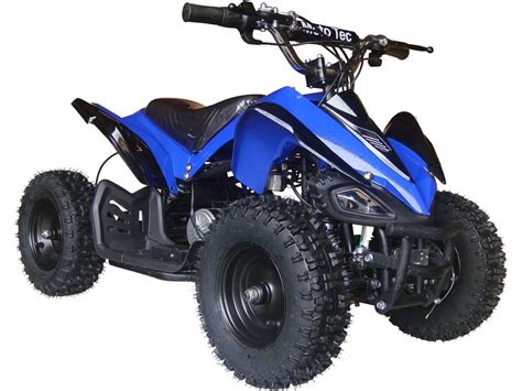 Blus Sp 110 12 mototec 24v mini v2 blue electric atv 4 wheeler