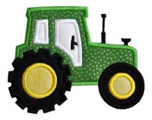 Quilt Room Design Ideas - tractor applique