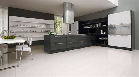 black white kitchen designs contemporary black and white kitchen asia by futura