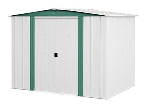arrow sheds hm86 hamlet steel storage shed 8 by 6