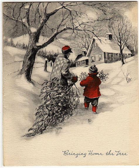 vintage christmas vintage christmas christmas cards la boutique vintage
