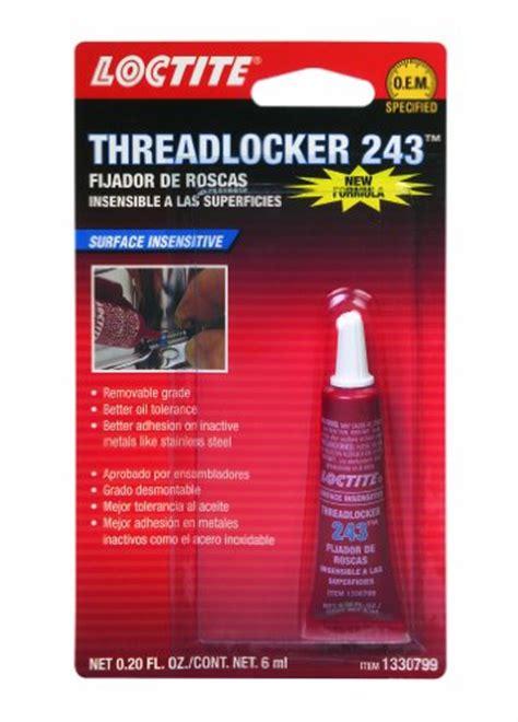 Loctite 243 50 Ml Threadlocker Resistant loctite 1330799 243 blue resistant threadlocker