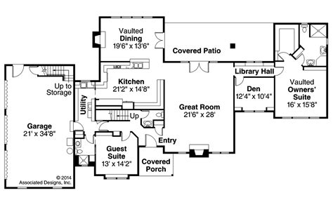 Southwest Floor Plans Southwest House Plans Noranda 30 123 Associated Designs