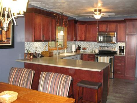 schrock kitchen cabinets schrock cabinets morgan maple sangria customer project