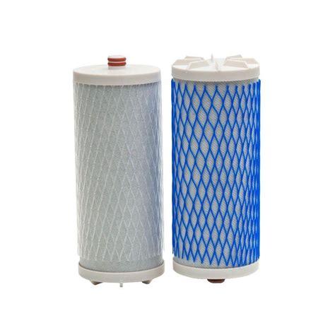 aquasana dual set counter top water filter replacement