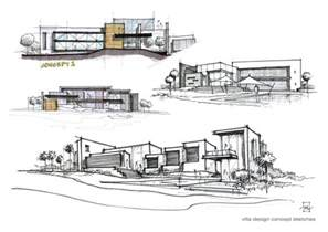 Architecture Concept by Villa Concept Sketches Jpg 1600 215 1131 Drawing Archi