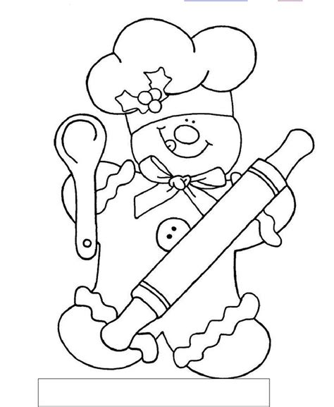 boy christmas coloring page gingerbread chef color by sum coloring pages pinterest
