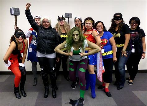 group superheroes halloween entertainment partners