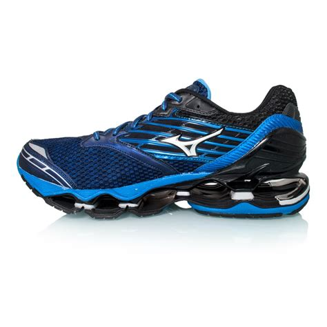mizuno wave prophecy running shoes mizuno wave prophecy 5 mens running shoes blue depths