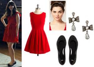 How to dress like jess from new girl college fashion