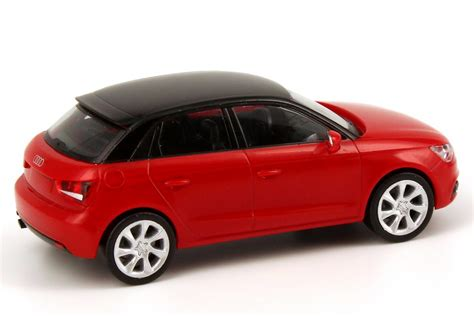 Audi A1 Sportback Misano Red by 1 87 Audi A1 Sportback 2012 Misanorot Rot Red Dealer