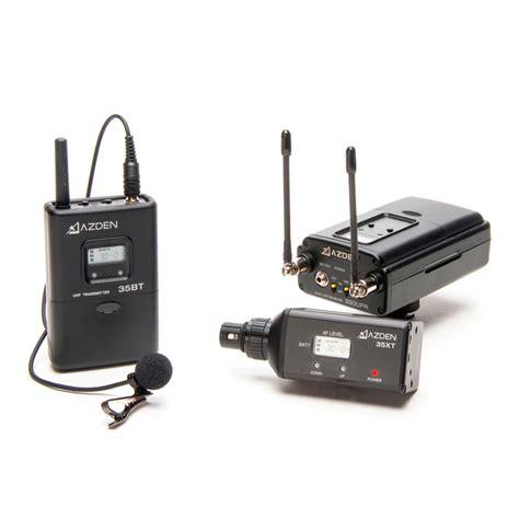 Mic Wearles Mikrofon Microphone Tanpa Kabel azden 330lx lavalier mic xlr in mount dual