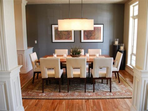 Furniture Transitional Dining Room Ideas Hgtv Dining Dining Room Light Fixture Ideas
