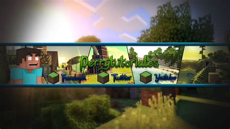 minecraft youtube channel art maker www pixshark com