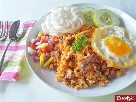 membuat nasi goreng ala chinese food resep nasi goreng