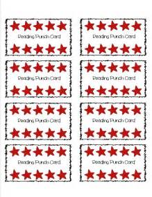 Reward Punch Card Template by Pin By Lewis On Keeping It