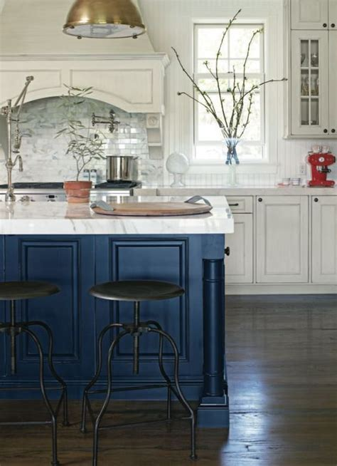 white pecky cypress kitchen cabinets with navy blue island best 25 island blue ideas on pinterest blue kitchen
