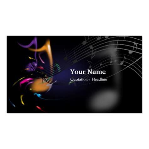 music business card templates bizcardstudio com