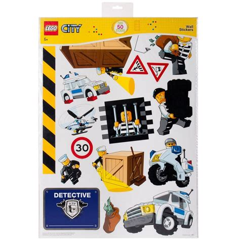 lego wall sticker lego city wall stickers official new 50